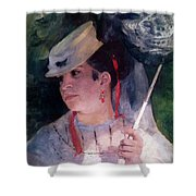 Portrait Of Lise Shower Curtain