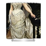 Portrait Of Mademoiselle X Shower Curtain