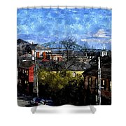 Portsmouth Nh North End Pnewc Shower Curtain