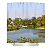Portsmouth Nh Pnhp Shower Curtain