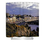 Portstewart, Co Derry, Ireland Seaside Shower Curtain