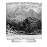 Portugal: Cintra, 1832 Shower Curtain