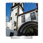 Portuguese Architecture Shower Curtain