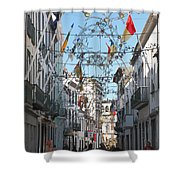Portuguese Street Shower Curtain