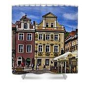 Posnan Shops - Poland Shower Curtain