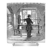 Post Office, 1856 Shower Curtain