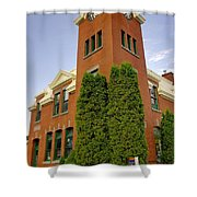 Post Office Greenwood Shower Curtain
