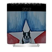 Poster2 Shower Curtain