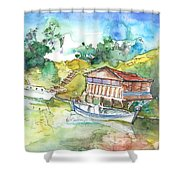 Potamos Liopetri 01 Shower Curtain
