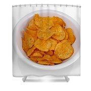 Potato Chips Shower Curtain