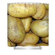Potatoes Shower Curtain