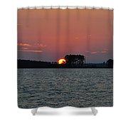 Potomac Sunrise Shower Curtain