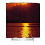 Potomac Sunrise Washington Dc Shower Curtain