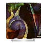 Pottery Of Time Shower Curtain
