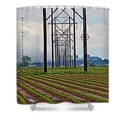 Power And Plants II Shower Curtain