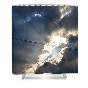 Power Of Light Shower Curtain