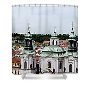 Prague Panorama Shower Curtain