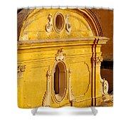 Praiano Church Shower Curtain