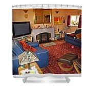 Prairie House Interior Shower Curtain