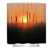 Prairie Sentinels Shower Curtain