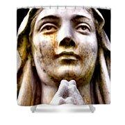 Prayer Shower Curtain