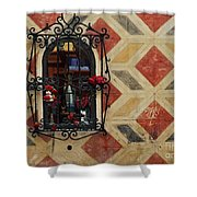 Prayer Wall Shower Curtain
