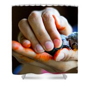 Precious Life Shower Curtain by Syed Aqueel