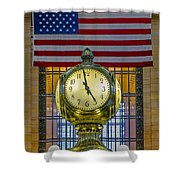Precious Time And Colors Shower Curtain