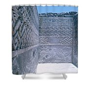 Prehistoric Ruins Of Mitla Shower Curtain