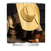 Preparation For The Ride Shower Curtain