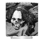 Preserved Remains In Nazca Shower Curtain by Darcy Michaelchuk