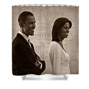 President Obama And First Lady S Shower Curtain