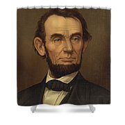 President Of The United States Of America - Abraham Lincoln  Shower Curtain