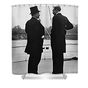 President Roosevelt And Gifford Pinchot Shower Curtain