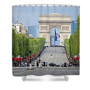 President Sarkozy Shower Curtain