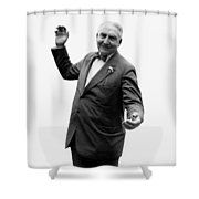 President Warren G Harding - C 1920 Shower Curtain
