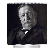 President William Howard Taft Shower Curtain