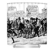 Presidential Campaign, 1824 Shower Curtain