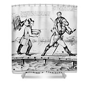 Presidential Campaign, 1852 Shower Curtain