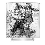 Presidential Campaign, 1908 Shower Curtain