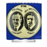 Presidential Campaign, 1924 Shower Curtain