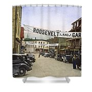 Presidential Campaign, 1936 Shower Curtain by Granger