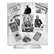 Presidential Campaigns Shower Curtain