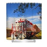 Prettiest Train Ever Shower Curtain