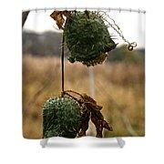 Prickly Bells Shower Curtain