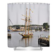 Pride Of Baltimore II Pb2p Shower Curtain