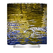 Priest Lake Reflections Shower Curtain