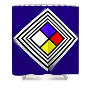 Primary Object Shower Curtain