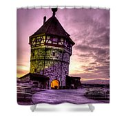 Princes Tower Shower Curtain