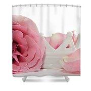 Princess Petals Shower Curtain